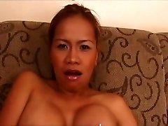 Impressive pornstar Mika Kani in hottest blonde, asian adult scene