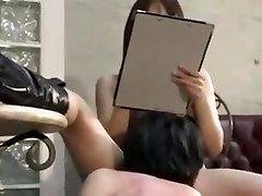 Asian domina slap