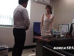 Korean pornography STEAMING Korean Boss Lady