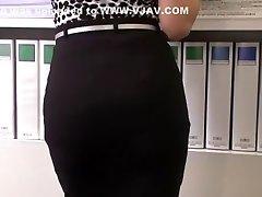 Extraordinaire Japanese whore Ai Komori in Crazy JAV video