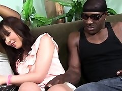 Marica Hase drizzles while DOUBLE PENETRATION'd by Black Cocks