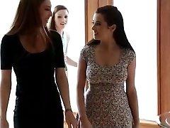 Asa Akira and Taylor Vixen girly-girl ravaging