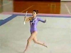Asian Naked Gymnast
