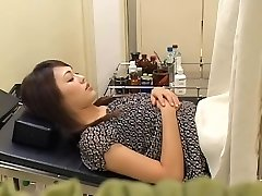 Uber-cute hairy Japanese broad gets screwed by her gynecologist