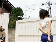Toying dirty with beautiful Yui Komine