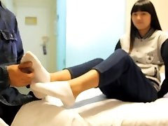 chinese tickle doll with sock and bare