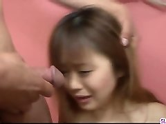 Noriko Kago welcomes big inches of cock down the booty