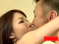 Maisaki Mikuni smooch and pound session