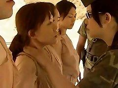 Japanese Lesbians Smooching Hot !!