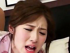 Adorable Splendid Korean Girl Tearing Up