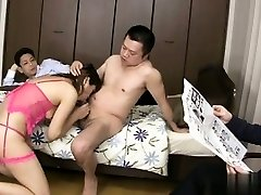 Busty first-timer blowjob tormentor