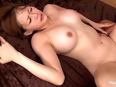 Asian sweetheart teases the camera before getting fucked