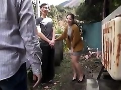 Japanese Teen Night Outdoor Pussyfingering