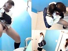 Chinese teen urinating
