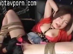 Asian Parents Make A Teenie Orgasm