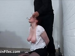 Face disciplined mature ### Chinas dental gagged sadomasochist torments and humiliating gaping pussy anguish of old submissi