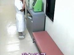 Tasty nurse creampied in spy cam medical vid