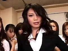 Asian Honey in Group sex