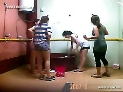 ###ping chinese ladies bathing