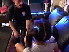 Teen childminder lily scared till  the police arrived