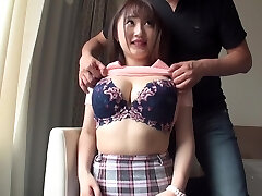 Busty hotties who are sensitive to orgasm many times