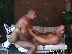 Two sexy gay guys have great time part1