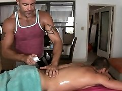 Lovely twink gets his aroused anal canal thrashed by hunk