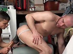 latin daddy with twink bareback