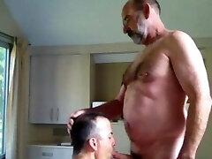 Daddy Bear Blowjob