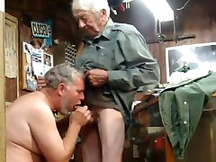 Bear blow grandpa