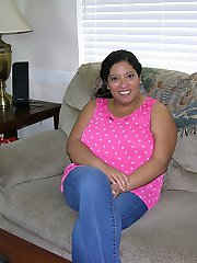 BBW Latina With Big Tits Modeling Nude - Vera Model