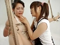 Amazing Japanese slut in Crazy Lesbian, BDSM JAV movie