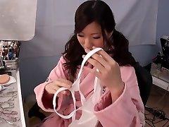 Handsome Japanese model in Hottest Marionette, Cumshot JAV clip
