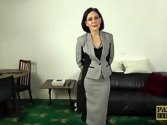 PASCALSSUBSLUTS - Trendy UK Cougar Belle OHara submits to dom