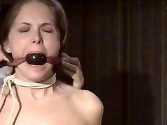 Slave girl bondage workout pt 1
