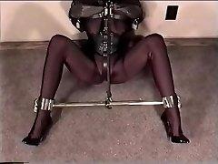 Double Penetration 164 - Molly Fetish and Leather Bondage