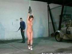 Hard core bondage and ferocious punishement part3