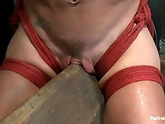 Hard Bodied Slut, Felony, is Ripped Apart During a Long Day of Brutal Torture