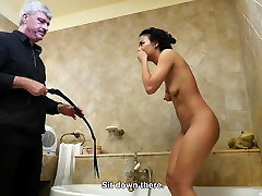 Yelling bitch pussy whipped in the bathroom