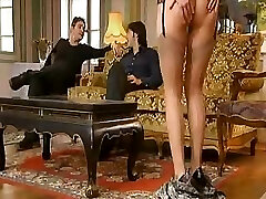 Hot Mom does her son-in-law and friend for delight