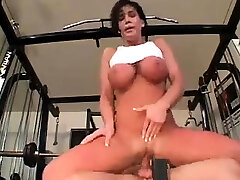 Antique sex with busty brunette