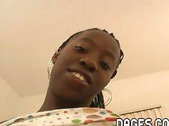 ebony teen blowjob tryout
