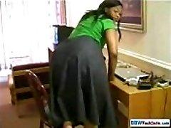 Huge Ass Ebony Housewife