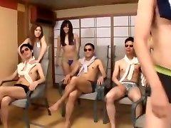 Hottest Japanese model Momoka Nishina, Tsubomi, Uta Kohaku in Exotic POV, Group Sex JAV vid