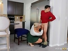 Ryan Keely & Ricky Spanish in Licking Out for Thanksgiving - BRAZZERS