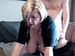 Rhyse Richards big boobs blond mature