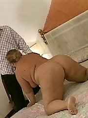 Taking some rigid screwing on her knees