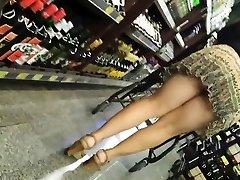 Candid Mature Thong - Big Butt Spycam - Bendover Ass