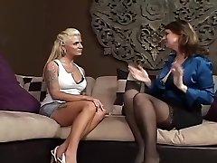 Awesome Lesbian Mature & Milf xxx scene