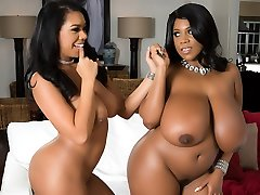 Katt Garcia & Maserati in Meaty On Bony - Brazzers